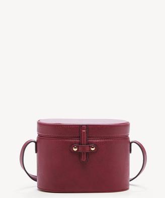 Sole Society Women's Helena Crossbody Vegan Bag Leather Oxblood Vegan Leather From