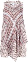 Derek Lam 10 Crosby scarf print sleeveless dress - women - Silk - 2