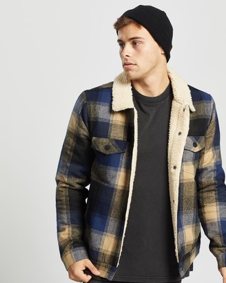 Ziggy Denim Lorry Trucker Sherpa Jacket
