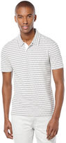 Perry Ellis Short Sleeve Dashed Stripe Polo