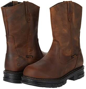 Wolverine Hellcat Wellington Boot (Tobacco) Men's Shoes