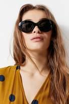 Le Specs Fluxus Oval Sunglasses
