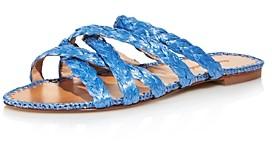 Charles David Women's Stanza Braided Slide Sandals