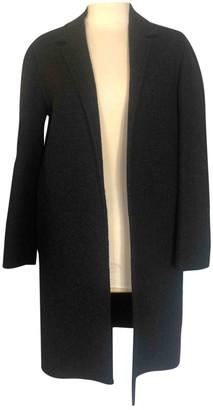 Prada Grey Wool Coats