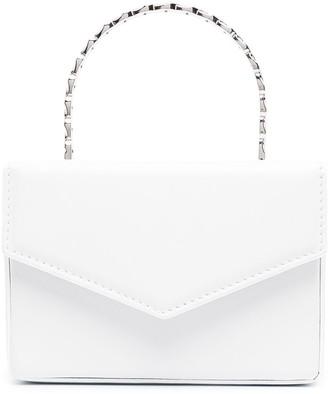 Amina Muaddi Pernille Supermini crystal-handle bag