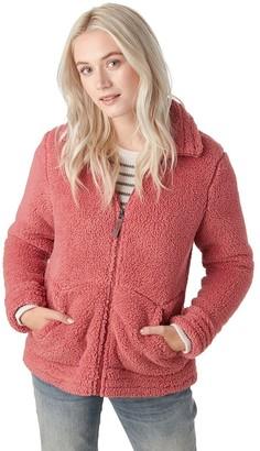 Stoic Cozy Patterned Fleece Jacket - Women's