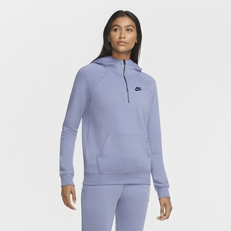 Nike Women's 1/4-Zip Hoodie Sportswear Essential