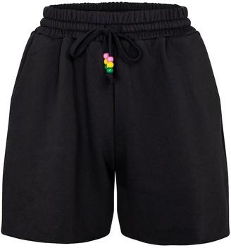 STAUD Cotton jersey shorts