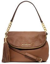 Michael Kors Bedford Tassle Medium Leather Shoulder Bag