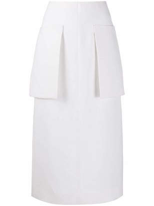 The Row Patch Pocket Skirt