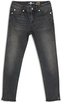 7 For All Mankind Girls' Skinny Raw Hem Jeans - Sizes 7-14