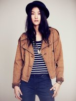Free People Rugged Boxy Trench Jacket