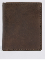 M&S Collection Leather Tri Fold Wallet