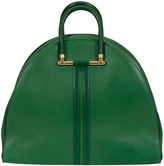One Kings Lane Vintage Oversize Hermès Bengale Green Bag