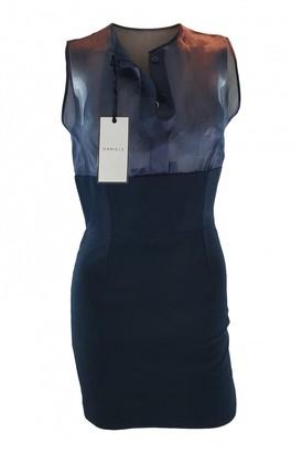 DANIELE CARLOTTA Black Silk Dress for Women