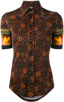 Givenchy printed butterfly collar top - women - Viscose - 38