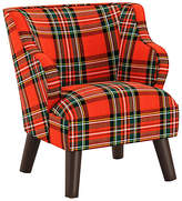 One Kings Lane Kira Kids' Accent Chair - Red/Green