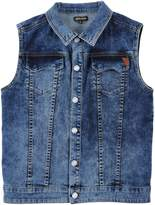 Roberto Cavalli Denim outerwear - Item 42503296