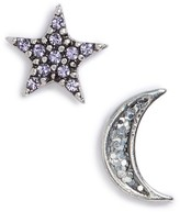 Marc by Marc Jacobs Women's Marc Jacobs Moon & Star Mismatch Stud Earrings