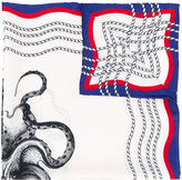 Gucci octopus and tiger print scarf - men - Silk - One Size