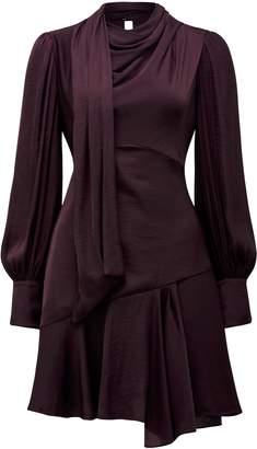 Ever New Lilja Mini Satin Dress