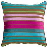 Surya Velvet Stripe Toss Pillow