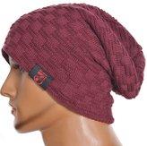 FORBUSITE Z&s Stylish Men's Warm Oversized Winter Beanie Knit Hat