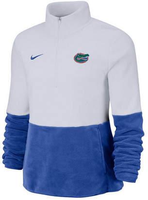 Nike Women Florida Gators Therma Long Sleeve Quarter-Zip Pullover