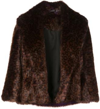Natori Textured Furry Jacket