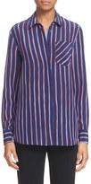 Altuzarra 'Chika' Stripe Silk Shirt