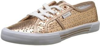 Pepe Jeans Women's ABERLADY Daisy Sneaker