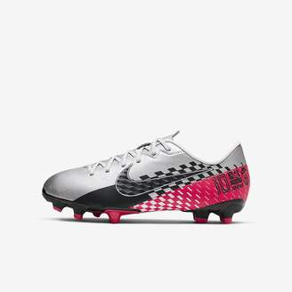 Nike Kids' Multi-Ground Soccer Cleat Jr. Mercurial Vapor 13 Academy Neymar Jr. MG