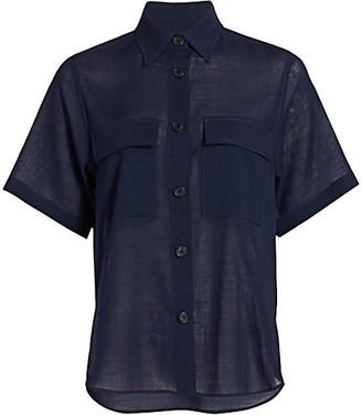 LVIR Summer-Wool Cargo Shirt