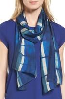 Eileen Fisher Women's Tie Dye Silk Scarf