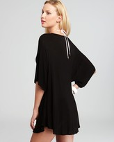 Wildfox Couture Salty Hair Shirt Swimsuit Cover Up