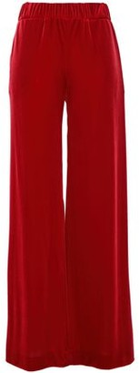 Alexandre Vauthier Stretch-velvet Wide-leg Pants