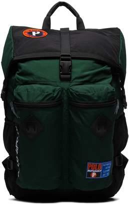 Polo Ralph Lauren Sportsman logo patch backpack