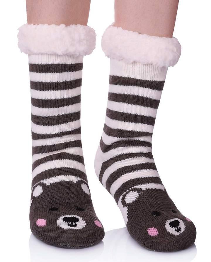f1a728fa2a2 Fleece Lined Slipper Socks - ShopStyle Canada