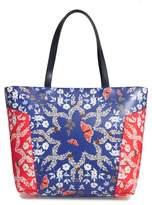 Ted Baker Garrya - Kyoto Gardens Faux Leather Shopper - Blue