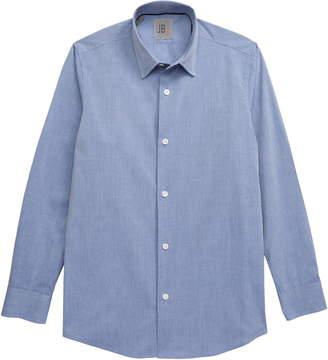 JB Jr. Chambray Button-Up Dress Shirt