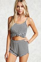 Forever 21 Striped Cami PJ Set