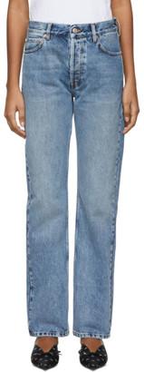 Balenciaga Blue Standard Jeans