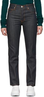 S.R. Studio. La. Ca. S.R. STUDIO. LA. CA. Indigo Contrast Stitching C Jeans