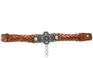 Etro Braided Ornate Belt
