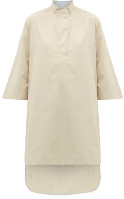Roksanda Ikeda Step-hem Poplin Longline Shirt - Beige