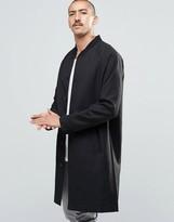Weekday Tide Coat Long Length in Black