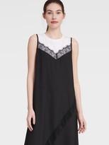 DKNY Mix-media T-shirt Dress