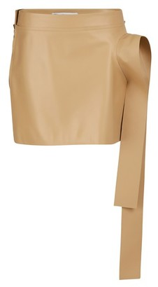 J.W.Anderson Leather mini skirt