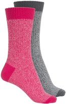 Columbia Marled Rib Socks - 2-Pack, Crew (For Women)