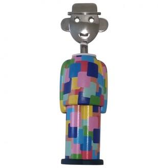 Alessi Multicolour Steel Dinnerware